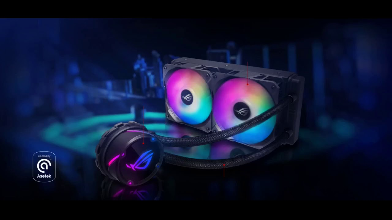 Review: ASUS ROG Strix LC 240 RGB White Edition All-in-one Liquid CPU Cooler with Aura Sync RGB...