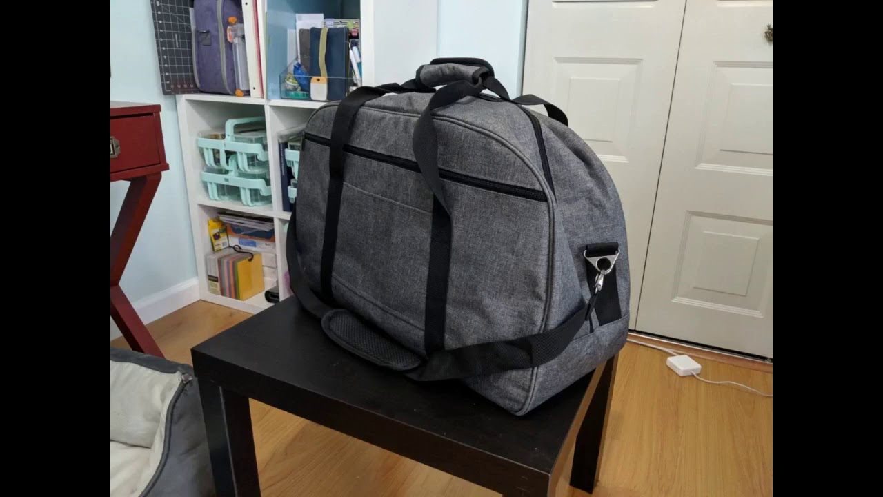 Review: Luxja Carrying Bag for Cricut Machine, Laptop, Bright Pad, Cutting Mat and Other Access...