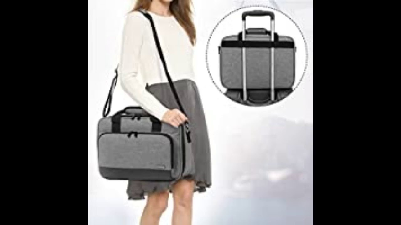 Review: Luxja Projector Case, Projector Bag with Protective Laptop Sleeve, Projector Carrying C...