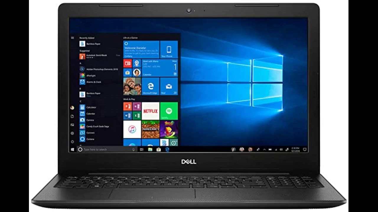 Review: Dell Inspiron 5000 15.6 Inch FHD 1080P Touchscreen Laptop (Intel Core i7-1065G7 up to 3...