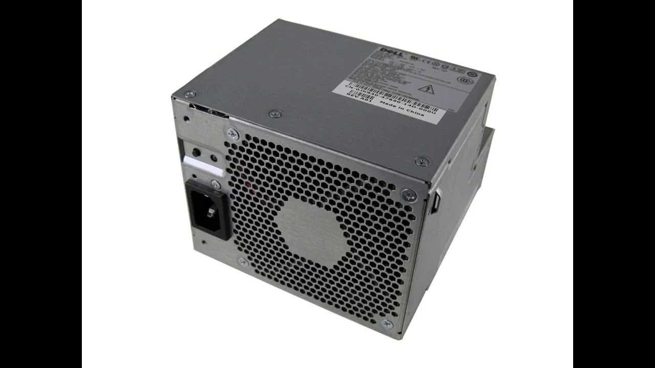 Review: Genuine Dell 280W Desktop Power Supply Unit Compatible Part Numbers MH596, MH595, RT490...