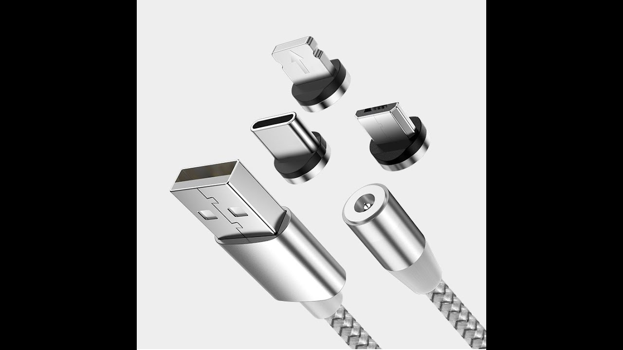 3 in 1 Magnetic USB Data Fast Charging Cable   -The Best-