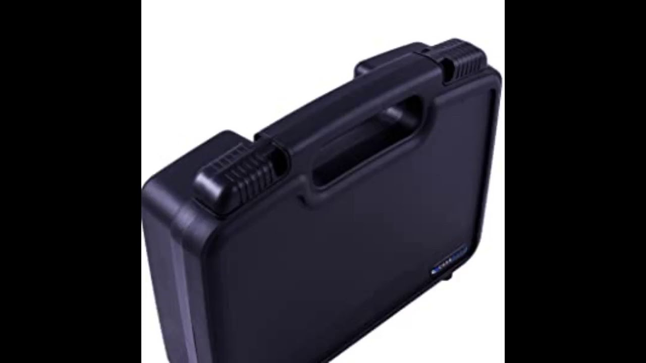 Review: Casematix Portable Hard Travel Case with Diced Foam fits AAXA P7 Pico Projector, P300,...