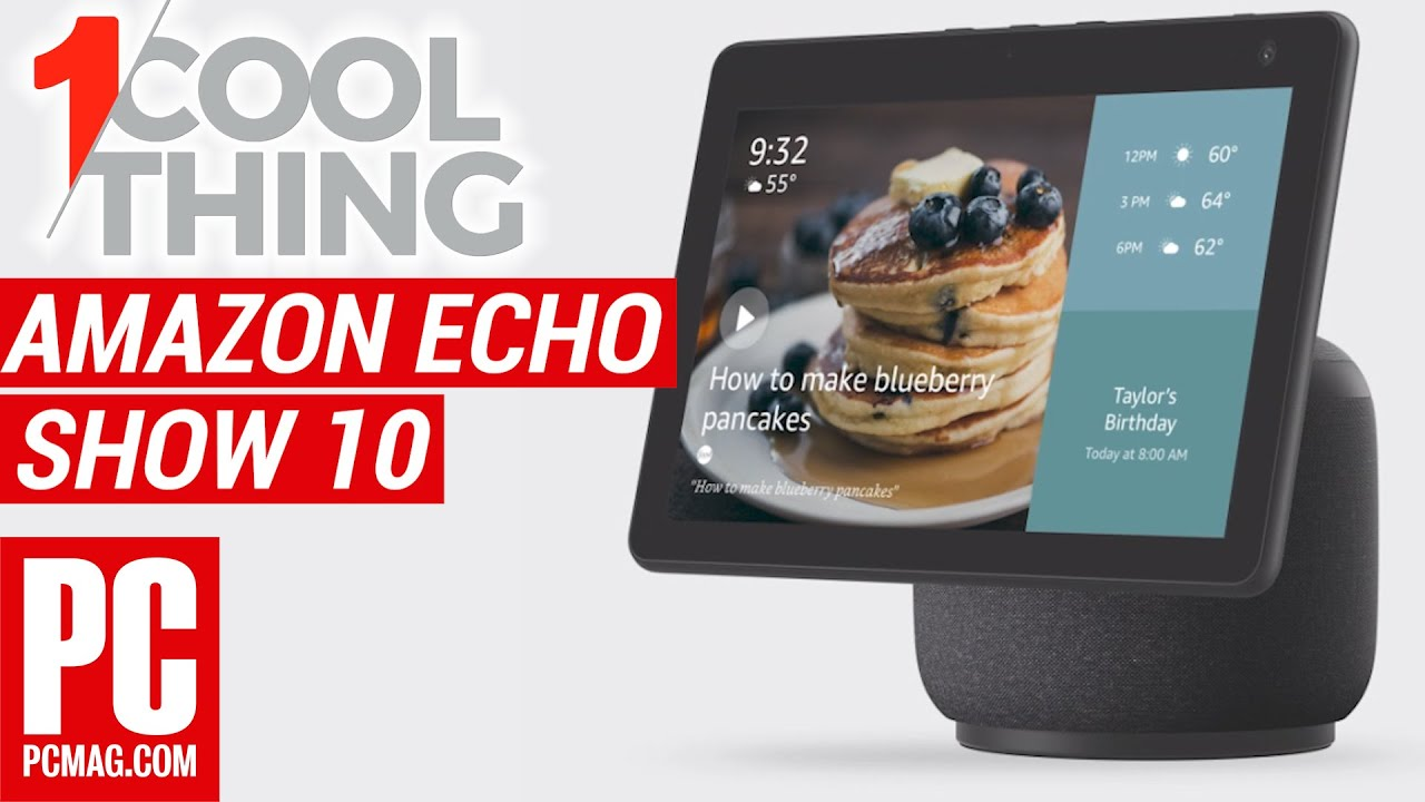 Amazon Echo Show 10 (3rd Generation) Preview