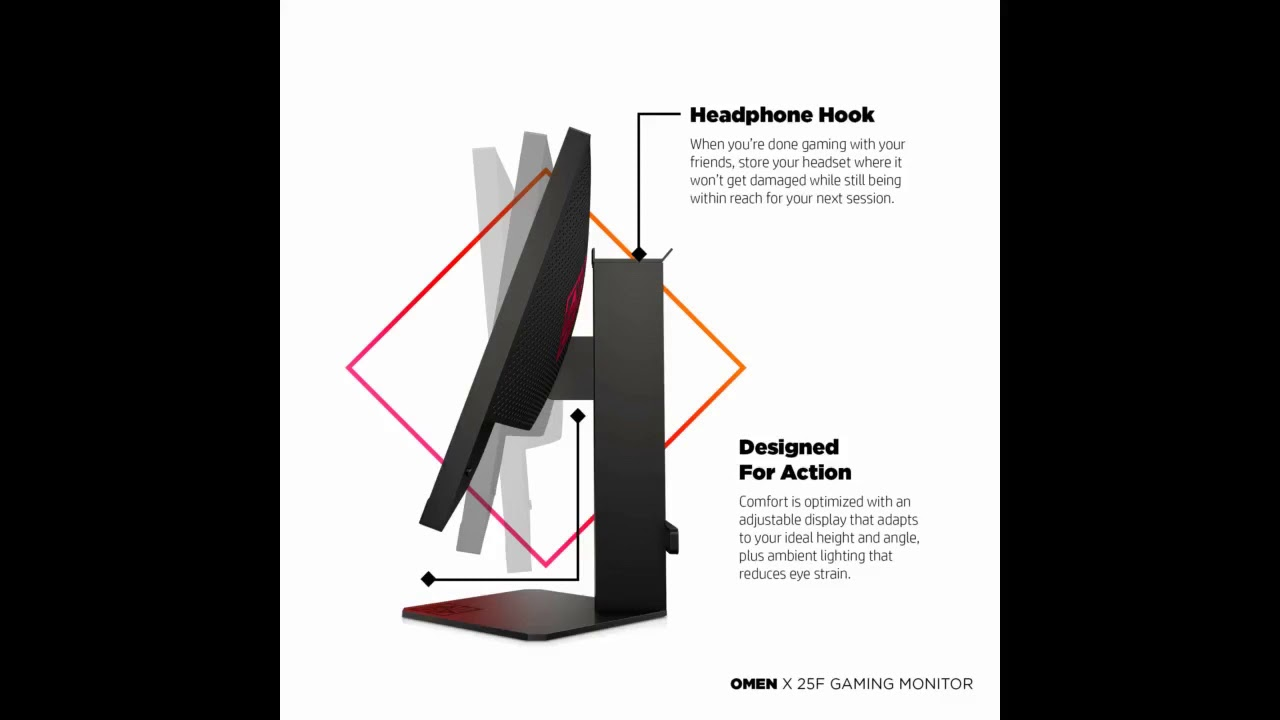 Review: Omen X 25 Gaming Monitor with NVIDIA G-Sync and 240Hz 1ms, Full HD 1920 X 1080P, Ambien...