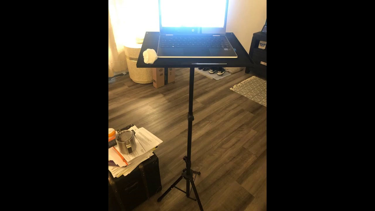 Review: Sponsored Ad - Klvied Projector Tripod Stand, Universal Laptop Tripod Stand, Portable D...