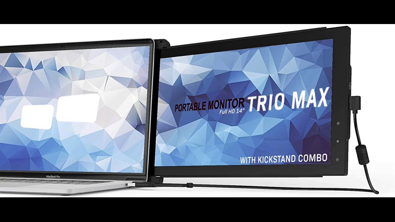 Review: Mobile Pixels 14'' Trio Max (w/Kickstand) Portable Monitor for Laptops,Full HD IPS USB...