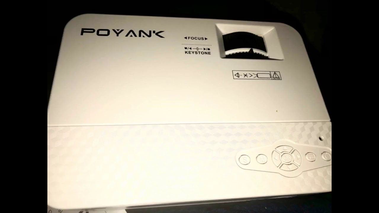 Review: WiFi Projector, POYANK 5500Lumens WiFi Projector, Full HD 1080P Supported Mini Projecto...