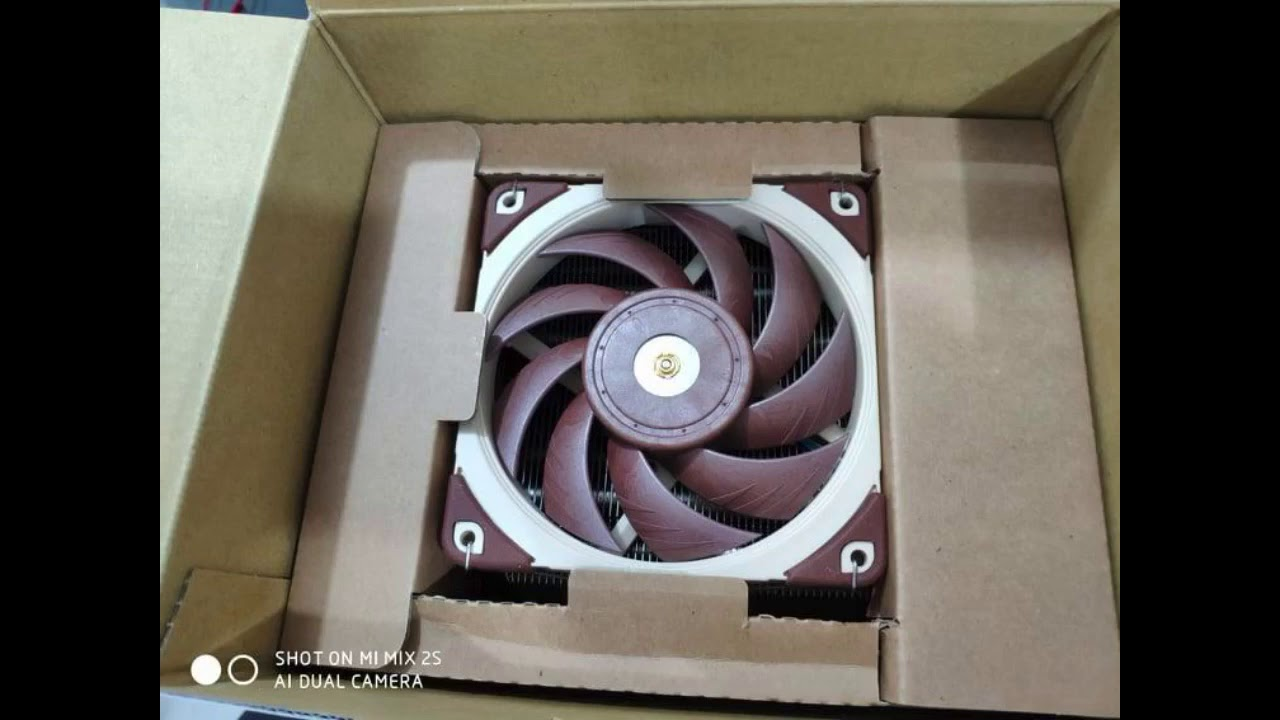 Review: Noctua NH-U12A, Premium CPU Cooler with High-Performance Quiet NF-A12x25 PWM Fans (120m...
