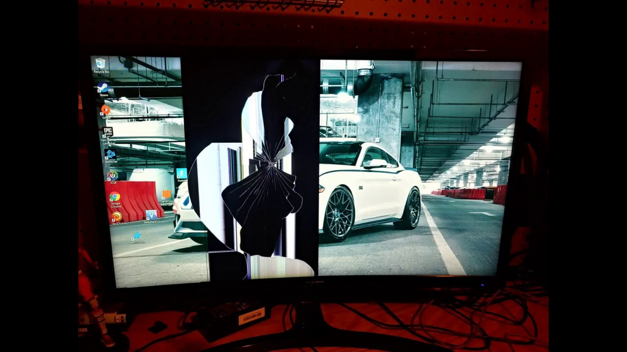 """Review: Acer Gaming Monitor 23.6"""" Curved ED242QR Abidpx 1920 x 1080 144Hz Refresh Rate AMD FREE..."""