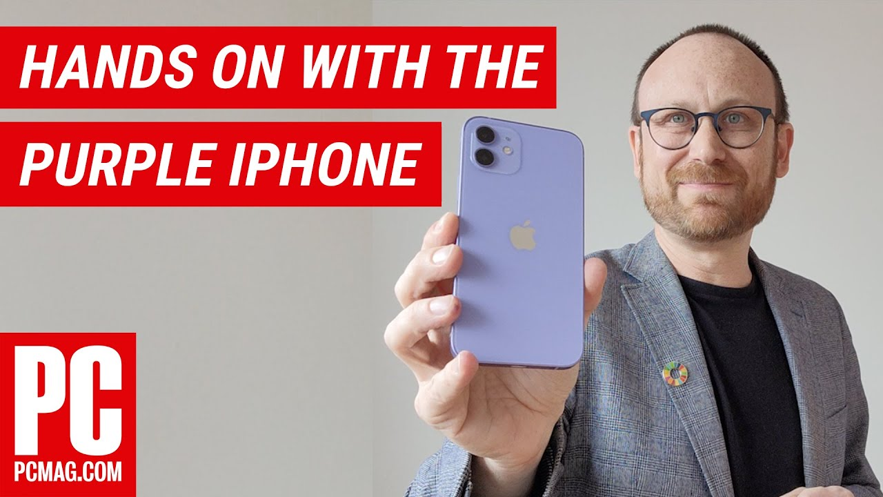 Hands On With The Purple iPhone 12