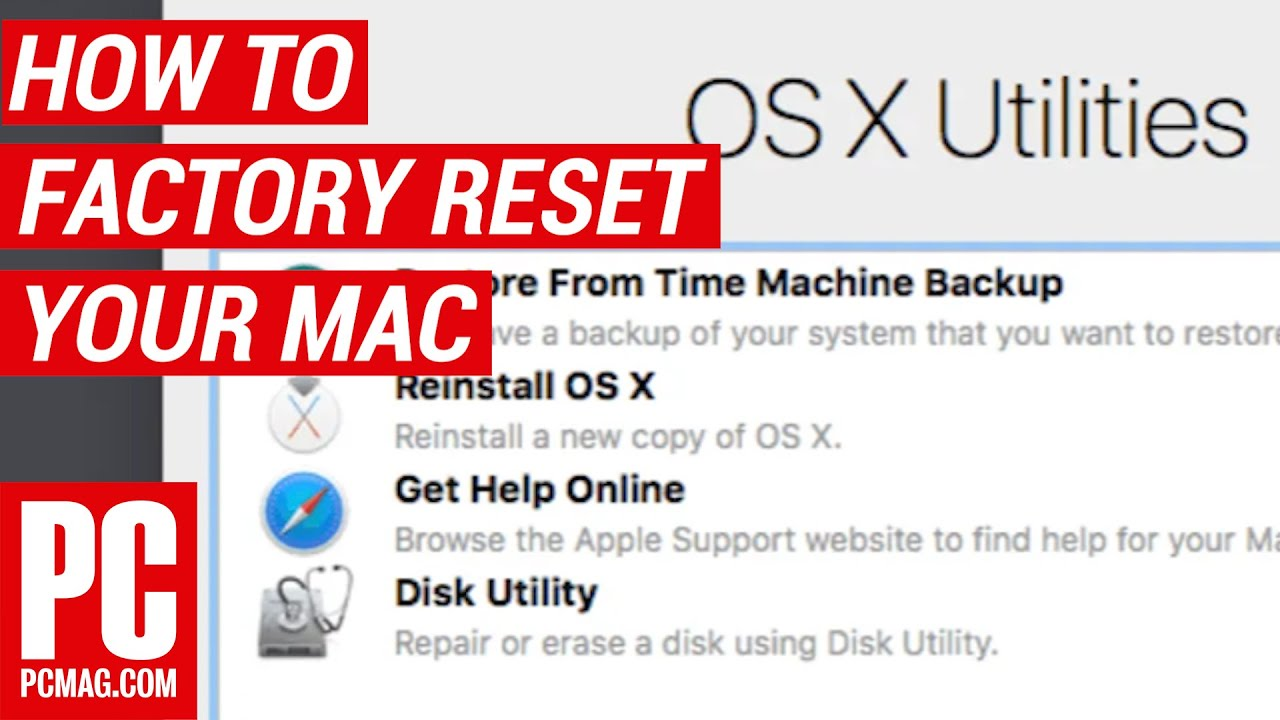 How to Factory Reset a Mac