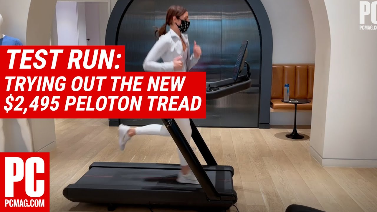 Test Run: Trying Out the New $2,495 Peloton Tread