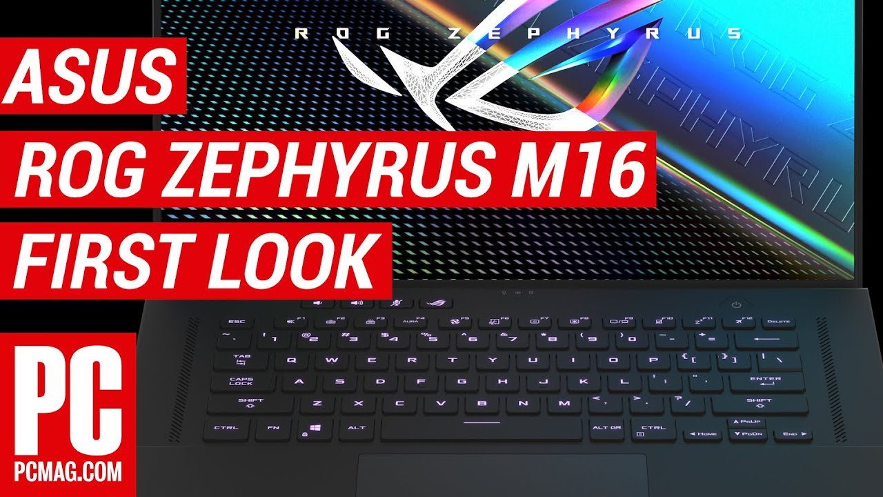 Asus ROG Zephyrus M16 First Look: A Gaming Screen at...16 Inches?