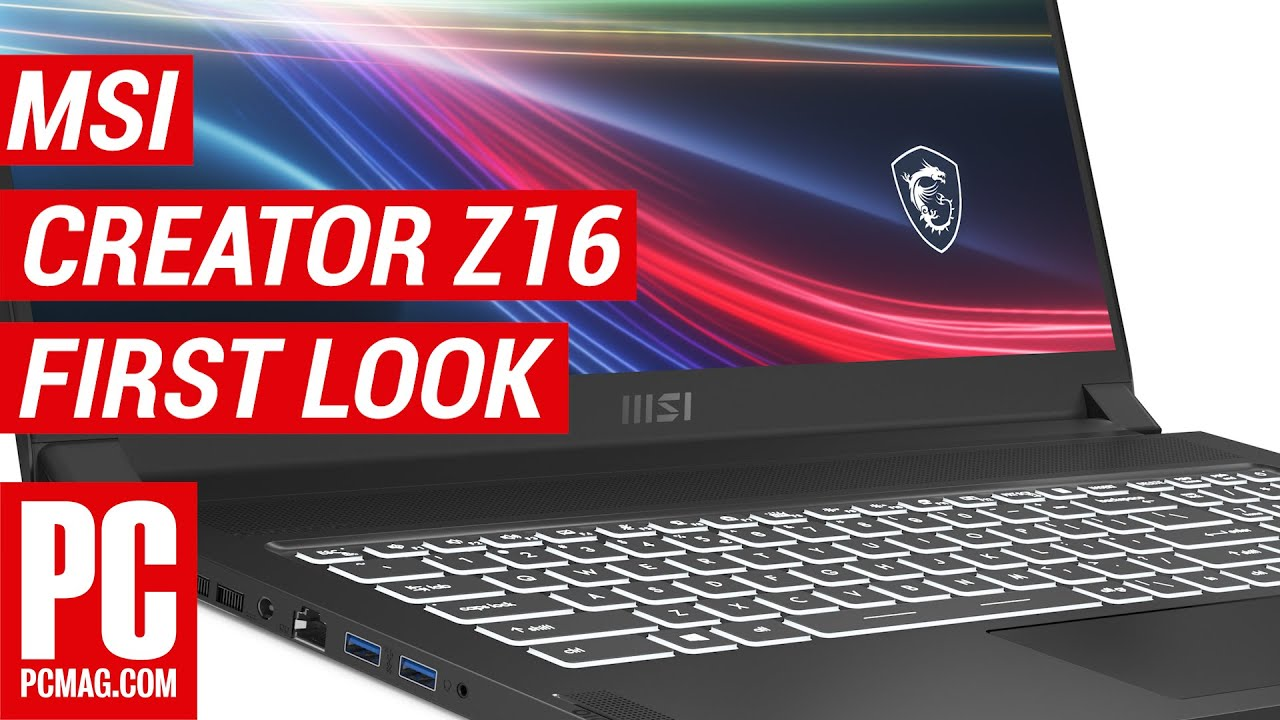 MSI Creator Z16 Preview: Tiger Lake-H and an RTX 3060 Take on the MacBook Pro