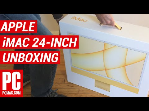 Unboxing the 2021 Apple iMac 24-Inch