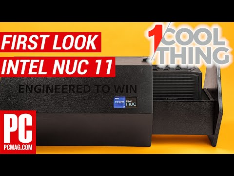 Hands On: The NUC 11 Extreme Kit, Intel's Biggest Mini-PC Yet