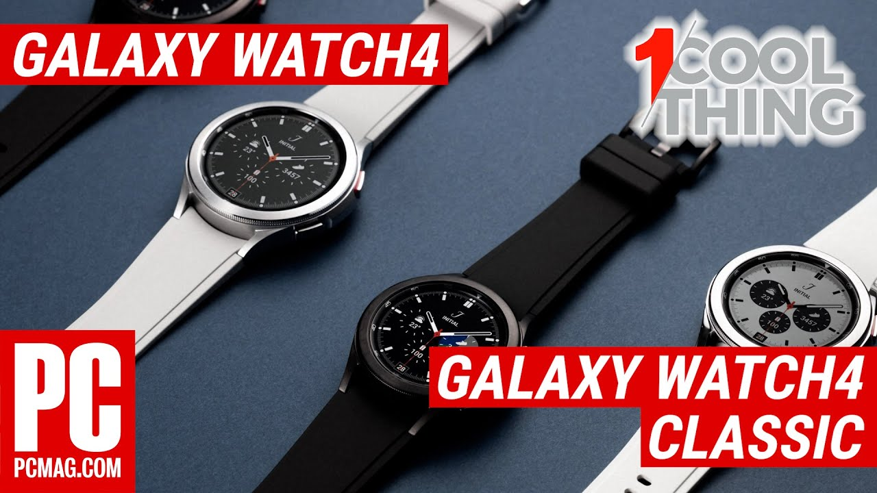Samsung Galaxy Watch4 and Galaxy Watch4 Classic Review