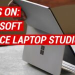 Hands On! Microsoft Surface Laptop Studio Is a Flippable 2-in-1 for Creators